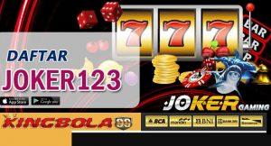 Daftar game slot joker123
